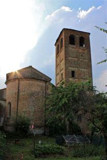Abside della vecchia chiesa di fontana (clic per ingrandire)